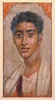 220px-Egyptian_-_Mummy_Portrait_of_a_Man_-_Walters_323