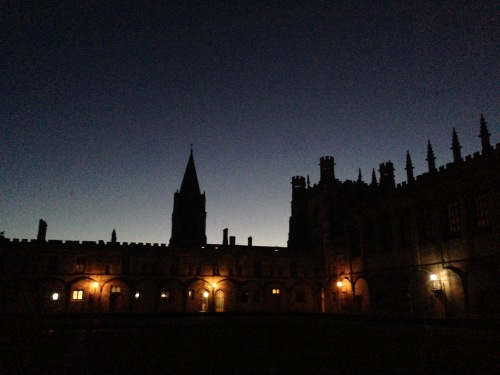 First Light over Oxford